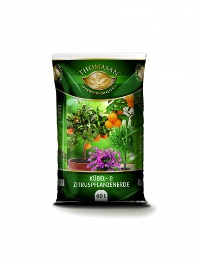 THOMASAN® Kübel- & Zitruspflanzenerde 40 L