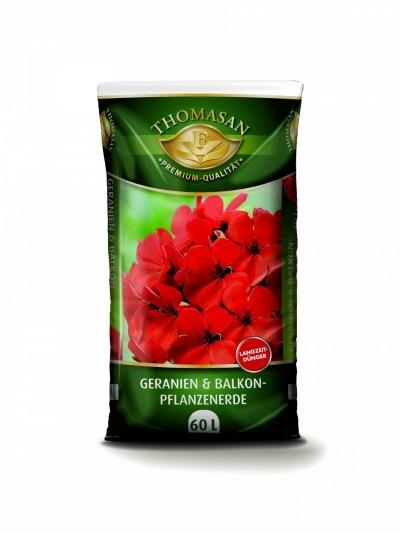 THOMASAN® Geranien- & Balkonpflanzenerde