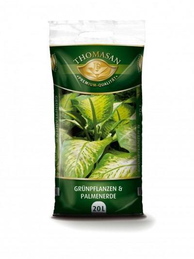 THOMASAN® Grünpflanzen- & Palmenerde 20 L