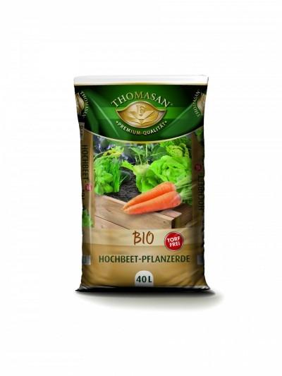 THOMASAN® Bio Hochbeet-Pflanzerde torffrei 40 L