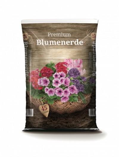 Premium Blumenerde