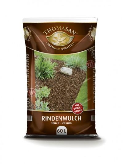 THOMASAN®  Rindenmulch (fein) mit Stickstoff 60 L