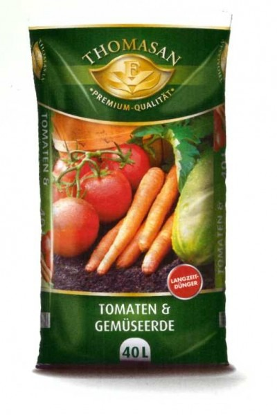 THOMASAN® Tomaten- & Gemüseerde 40 L